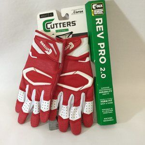 Cutters Rev Pro 2.0 Football Receiver Gloves Small